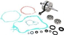 Wiseco Suzuki RM 125 04-10 Crankshaft Assembly Main Bearings & Gasket Kit